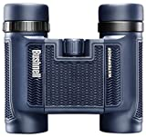 Bushnell H2O 8 x 25 mm Compact Binocular 138005, Pouch and Strap Included, Waterproof Portable Binocular with Non-Slip Rubber Armor, Bak-4 Roof Prisms