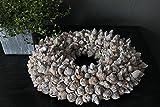 Homeclassics Natur Shabby Blüten Kranz Coco Frucht Türkranz Wandkranz Ø 40 cm Naturkranz Landhaus