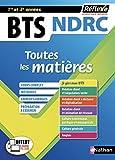 BTS NDRC - Négociation et Digitalisation de la relation client - Toutes les matières -1ère et 2e année (08)...