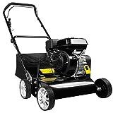 BRAST Benzin Vertikutierer 3,8kW (5,2PS) 40cm Arbeitsbreite 45L Fangkorb 2in1 Rasenlüfter Moosentferner 196ccm - 7