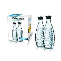 SodaStream DuoPack Glaskaraffe (2 x 0,6L Glaskaraf