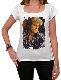 George Michael F Melrose Tshirt, George Michael Tshirt, Femme Tshirt cadeau
