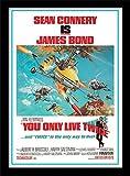 Pyramid International Druck gerahmt James Bond You Only Live Twice