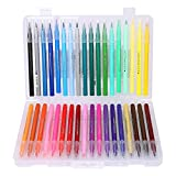 Watercolour Brush Pens Set Premium Vibrant Colouring Pens Washable Colour Pen Water Pen