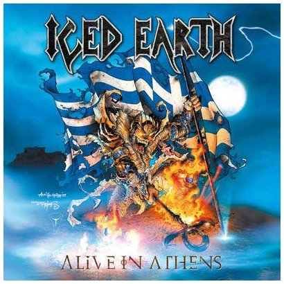 Iced Earth: Alive in Athens-Ltd (Audio CD)