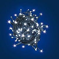 Catena Luminosa 96 LED Bianco L.7 mt - Uso Interno ed Esterno
