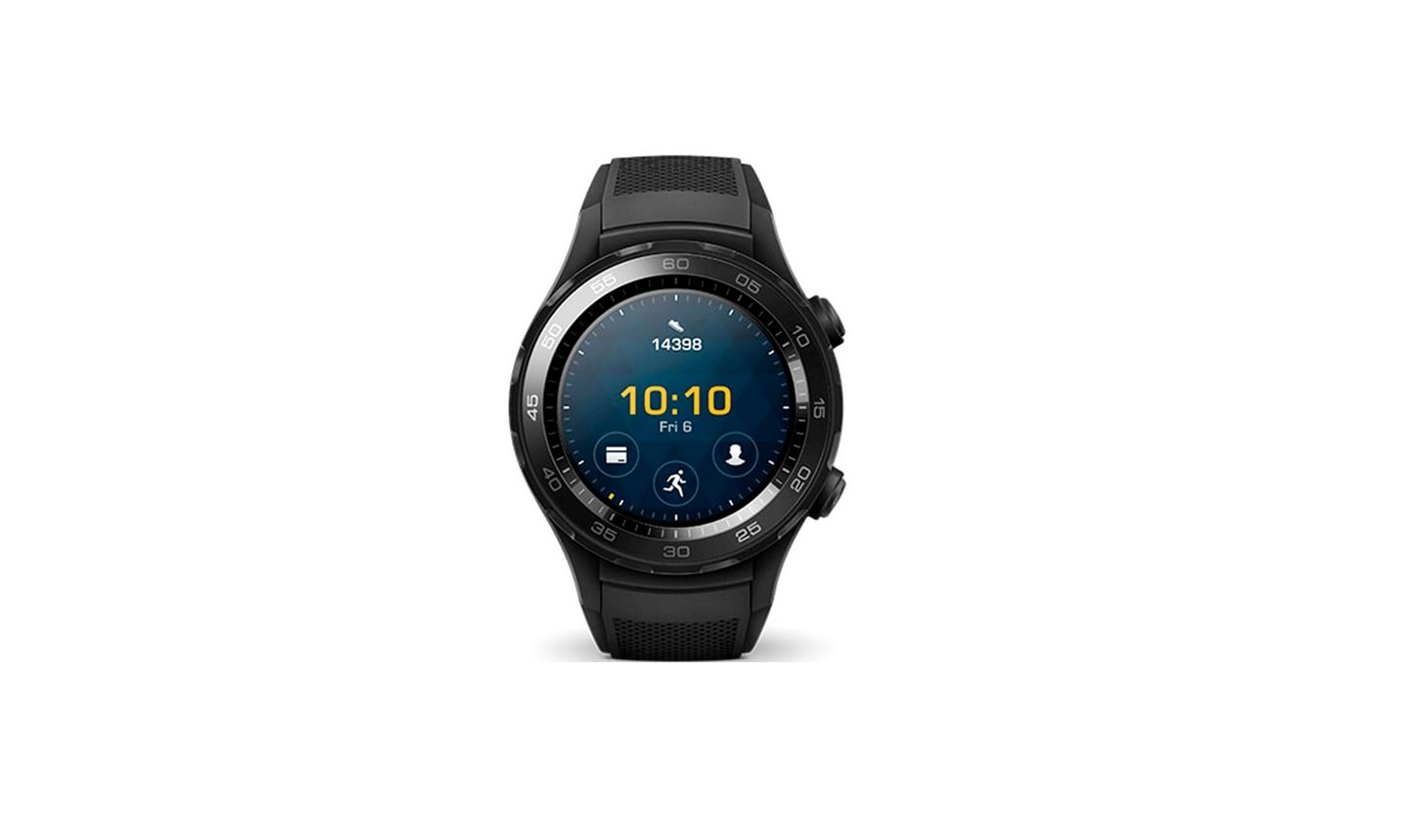 Huawei Watch 2 Smartwatch with Sport Strap – Carbon Black