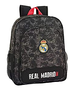Real Madrid CF- Real Madrid Mochila, Color Negro (SAFTA 611924640)