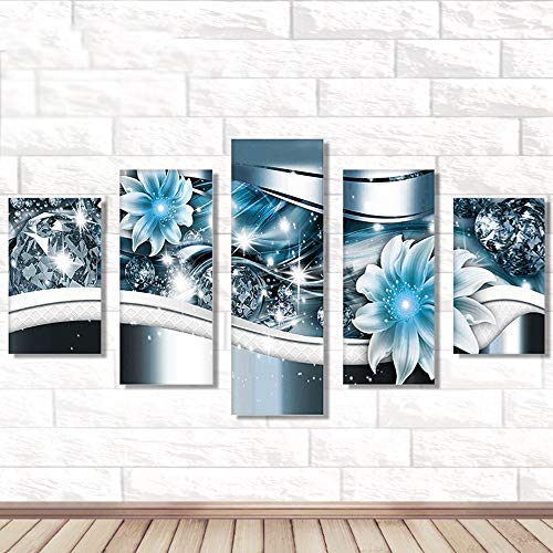 5D DIY Diamant Painting Kit Heiß Muster Strass Painting Handgemachtes Klebebild mit Digitale Sets Stickerei Gemälde Voller Diamant Kreuzstich Strass Mosaik Gemälde Zählbare Sets Raumdekor Wand-Dekor -