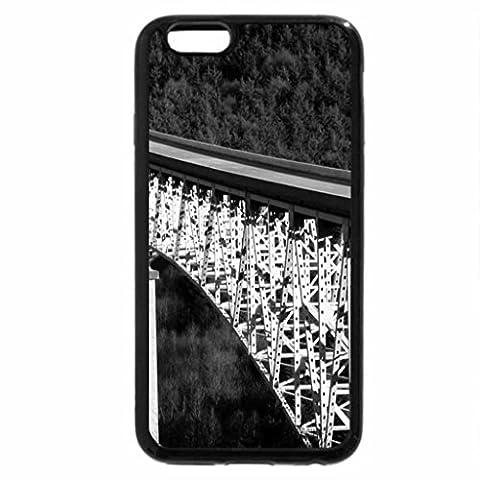 iPhone 3S, Iphone 6étui (Noir et Blanc)–hoffstadt Pont Washington USA