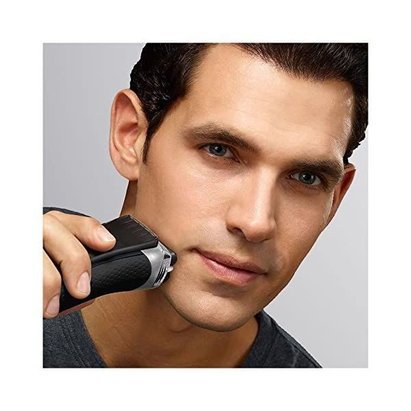 Braun Series 3 ProSkin 3080s Electric Shaver BlackBlue Rechargeable And Cordless Wet And Dry Electric Razor For Men With Pop Up Precision
