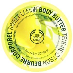 The Body Shop Beurre corporel Tendre citron 200 ml