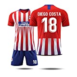 HSKS Atletico Trikot, 7,18 Fußball Trainingsanzug Mannschaftsuniform Fußballbekleidung männlich-XL-2