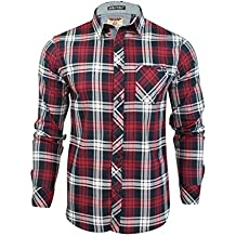 d34681b16d Tokyo Laundry para Hombre Franela Compruebe Camisa by Wilding de Manga Larga