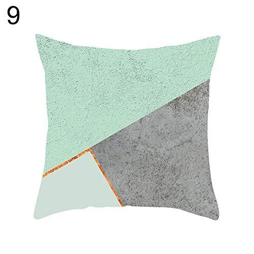 Vimbhzlvigour - Funda de cojín para sofá y Silla, Color Verde Menta