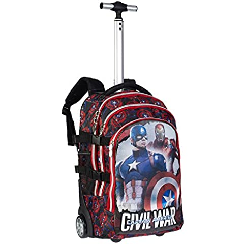 Karactermania 52828 - Marvel 2015 Civil War Trolley Zaino
