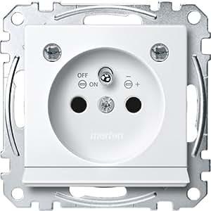 Merten MEG2504-0319steckd. avec borne Stylet, lumière Module, ausl. LED Bel., BRS, Stk, borne enfichable GL., SYS. M