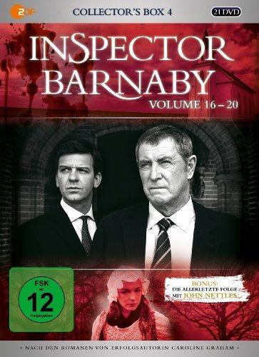 Inspector Barnaby - Collector's Box 4, Vol. 16-20 (21 Discs) Fiona Music Box