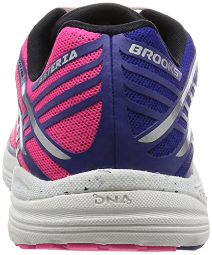 Brooks Asteria, Scarpe da Corsa Donna Multicolore (Knockoutpink/Clematis/Black)