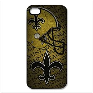 Unique Design NFL New Orleans Saints Team Logo Best Durable Silicone Case Cover for iphone 5 5S