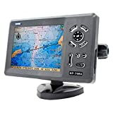 ONWA KP-708A 7-inch Color LCD GPS Chart Plotter Contains Internal GPS Antenna Built-in Class B AIS Transponder Combo High Sensitivity Marine GPS Navigator