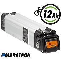 Maratron Akku XH259-10J für E-Bike Pedelec 24V ( 25,9V ) 12Ah für u.a. Phylion,MiFa, Rex, Prophete