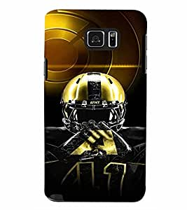PrintVisa Sports NHL 3D Hard Polycarbonate Designer Back Case Cover for Samsung Galaxy Note 5