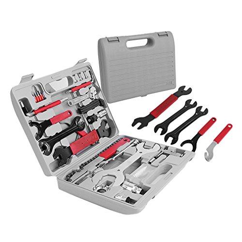 Fahrrad Werkzeugkoffer ICOCO Fahrrad Werkzeug Set,Fahrradwerkzeug für Fahrrad Montagearbeiten und...