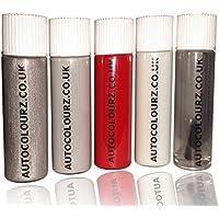 Autocolourz - Vernice per ritocchi Hyundai Electric, pennello integrato nel coperchio, colore: crema, codice: TCW