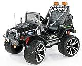 Gaucho Superpower 24 Volt Elektro-Jeep Zweisitzer Schwarz Elektro Auto Elektroauto Kinderauto