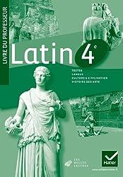 Latin 4e éd. 2011 - Livre du professeur