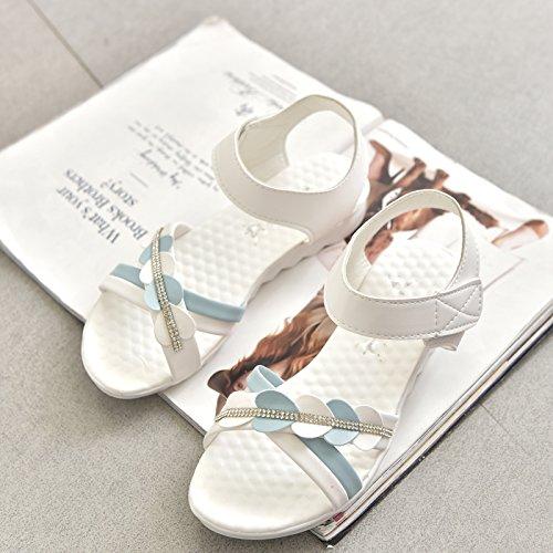 XY&GKFrau Xia Pingdi Mode Sandalen 35 white
