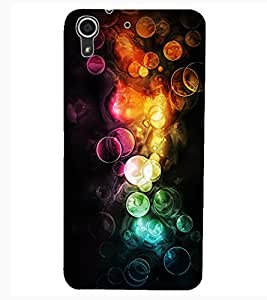 ColourCraft Abstract Image Design Back Case Cover for HTC DESIRE 626