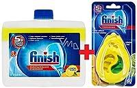 FINISH DISHWASHER CLEANER LEMON + FINISH DISHWASHER FRESHENER LEMON
