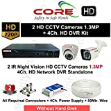 CORE HD 2 CCTV Cameras with Night Vision...