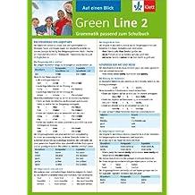 Green Line 2 - Auf einen Blick: Grammatik passend zum Schulbuch - Klappkarte (6 Seiten)