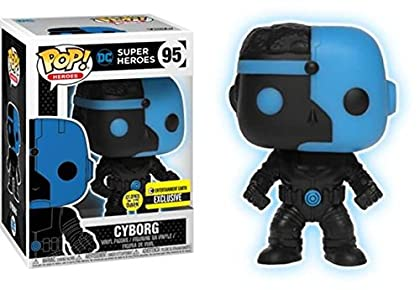 Figura Pop DC Comics Justice League Cyborg Silh...