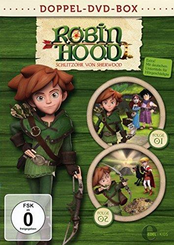 Robin Hood: Schlitzohr von Sherwood - Doppel-Box [2 DVDs] Preisvergleich