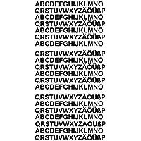 Amazonit Lettere Adesive Ultimi 30 Giorni Decalcomanie E Adesivi
