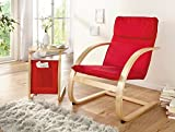 """'Sedia Relax Red """""""