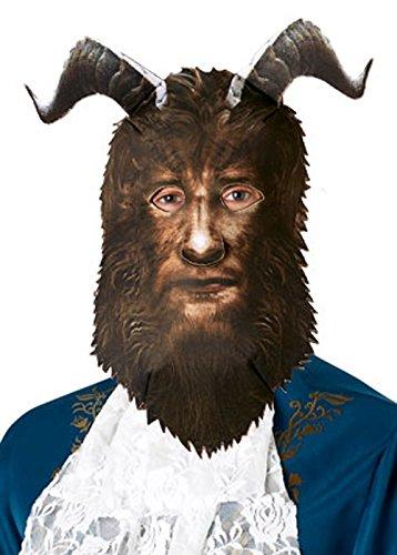 Magic Box Int. Erwachsene Männer die Tier-Maske mit Hörnern