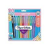 Paper Mate Flair Candy POP stylos feutre, pointe moyenne, assortiment de couleurs, lot de 12