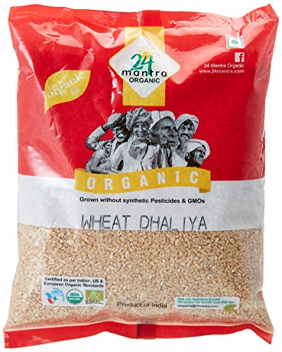 24 Mantra Organic Wheat Daliya, 500g