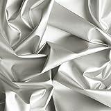 Silbergewebe - metallbeschichtetes Polyamidgewebe,