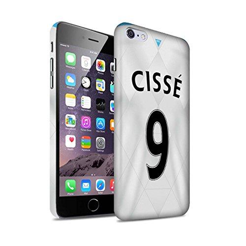 Offiziell Newcastle United FC Hülle / Matte Snap-On Case für Apple iPhone 6+/Plus 5.5 / Pack 29pcs Muster / NUFC Trikot Away 15/16 Kollektion Cissé