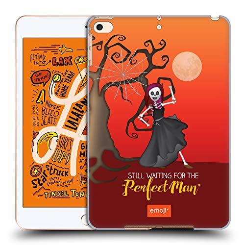 Head Case Designs Offizielle Emoji® Perfekte Mensch Halloween Parodien Harte Rueckseiten Huelle kompatibel mit iPad Mini (2019) (Halloween Werden Menschen Für)
