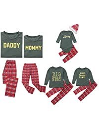 Pijamas de Navidad a juego para niños y adultos, conjunto de pijama de Navidad para niños, pijama y ropa de dormir familiar a juego