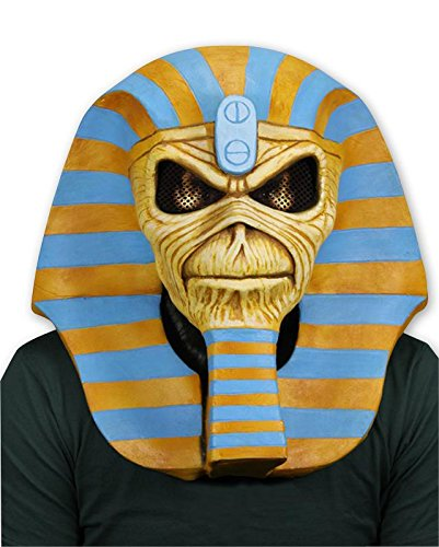 (Close Up Iron Maiden Eddie Latexmaske Powerslave 30th Anniversary)