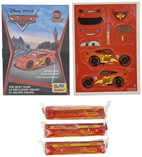 Clay BuddiesTM 04198 - Disney Cars, Blister Pack