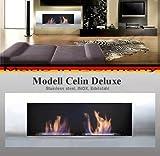 Gel y etanol chimenea modelo celin Deluxe - se puede elegir entre 6 coloures